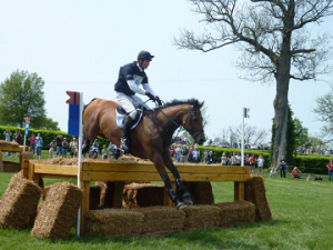 William Fox-Pitt and Neuf de Coeurs at Rolex Kentucky